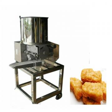 Fast Food Single Burger Press Hamburger Making Robot Machine