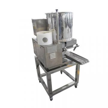 Industrial Vegan Patties Peanut Frying Machine Fried Beans Peanut Production Line