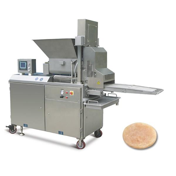 Hand Feeding Servo Control Food Bread Burger Packaging Machine